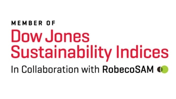 Member of Dow Jones Sustainability Index