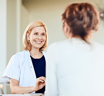 Give patients confidence