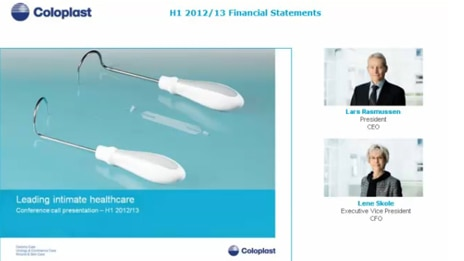 H1 2012/13 Financial Statements