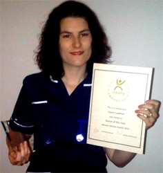Stoma nurse of the year