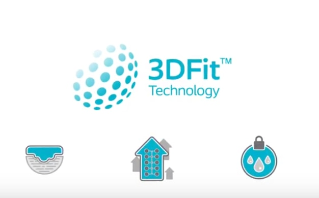 See how Biatain Silicone 3DFit™ Technology fills the gap and reduces exudate pooling.