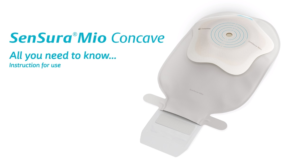 Sensura Mio Concave 1-piece open bag