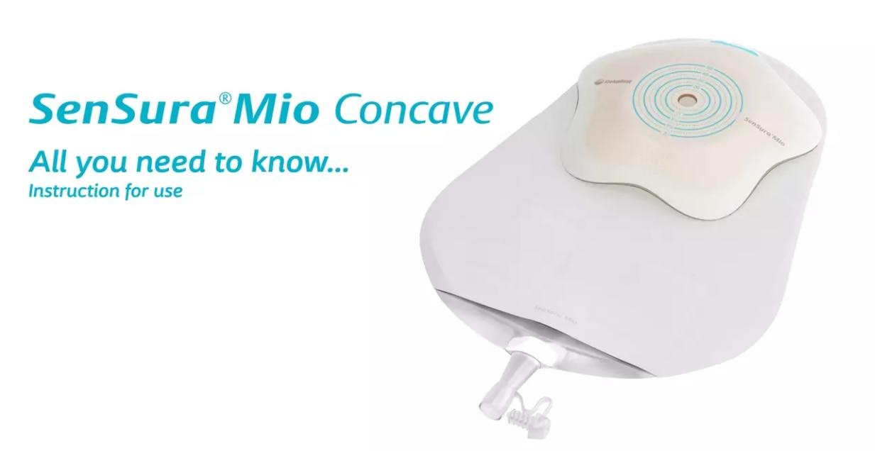 Sensura Mio Concave 1-piece uro bag